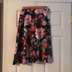 New York and Company floral skirt